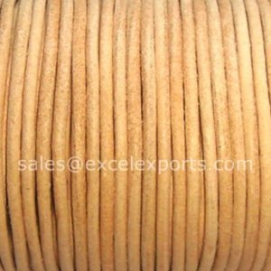 Round Leather cord-1.0mm- 101