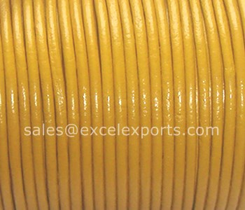 Round Leather cord 1.5mm
