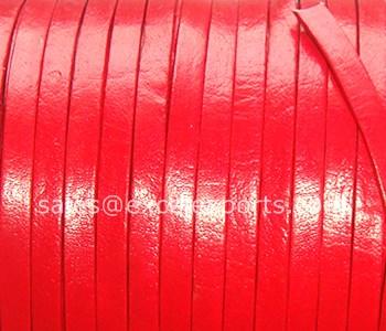 Flat Leather Belt